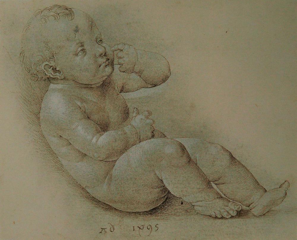 Albrecht Dürer Bebek İsa, Kanvas Tablo, Albrecht Dürer
