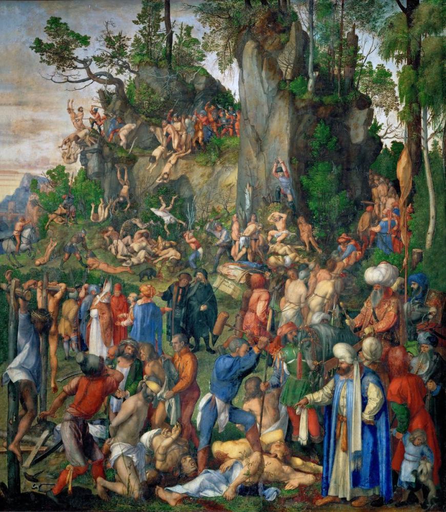 Albrecht Dürer Onbin Şehitliği, Kanvas Tablo, Albrecht Dürer
