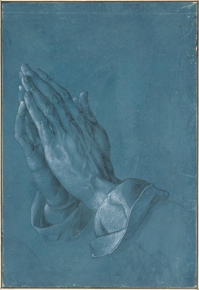 Albrecht Dürer Dua Eden Eller, Kanvas Tablo, Albrecht Dürer