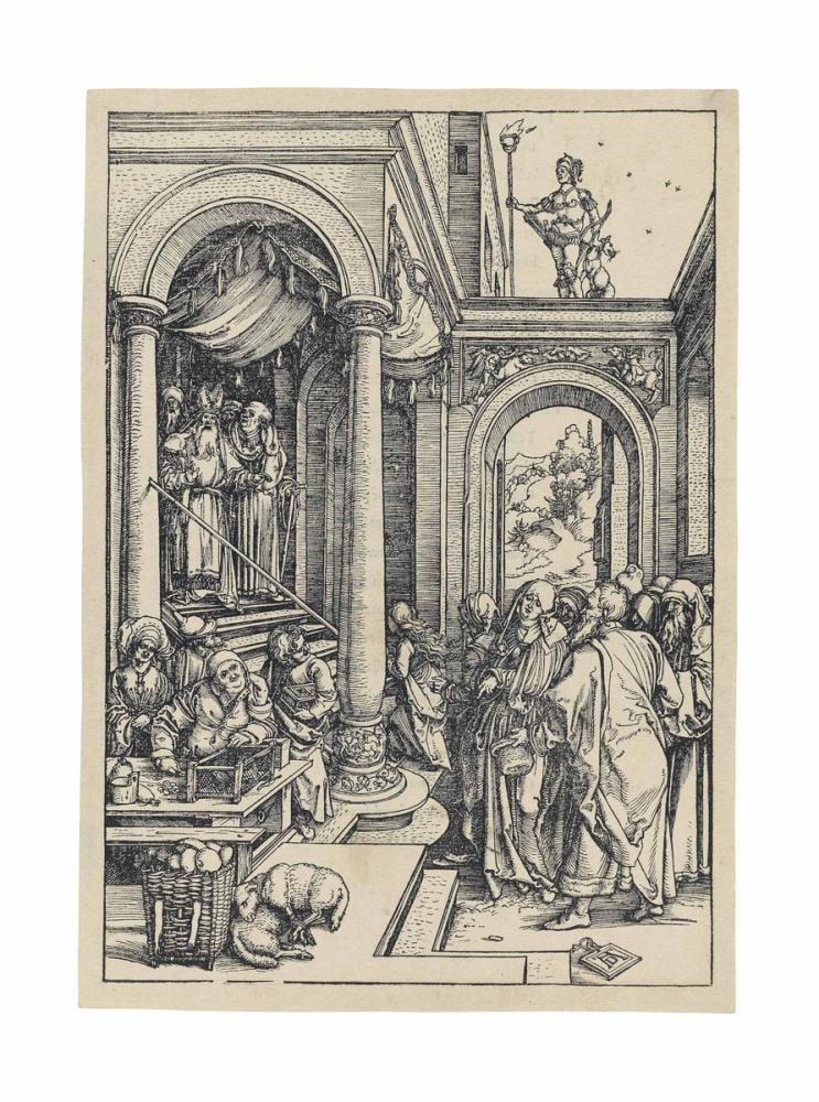 Albrecht Dürer Bakire Sunumu, Kanvas Tablo, Albrecht Dürer
