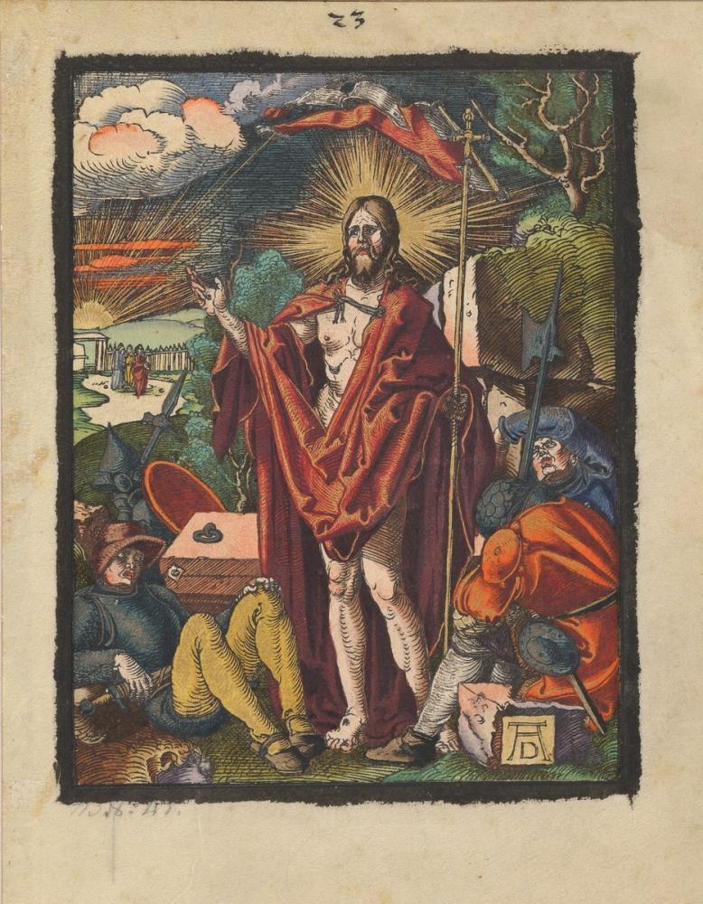Albrecht Dürer İsa Dirilişi, Kanvas Tablo, Albrecht Dürer