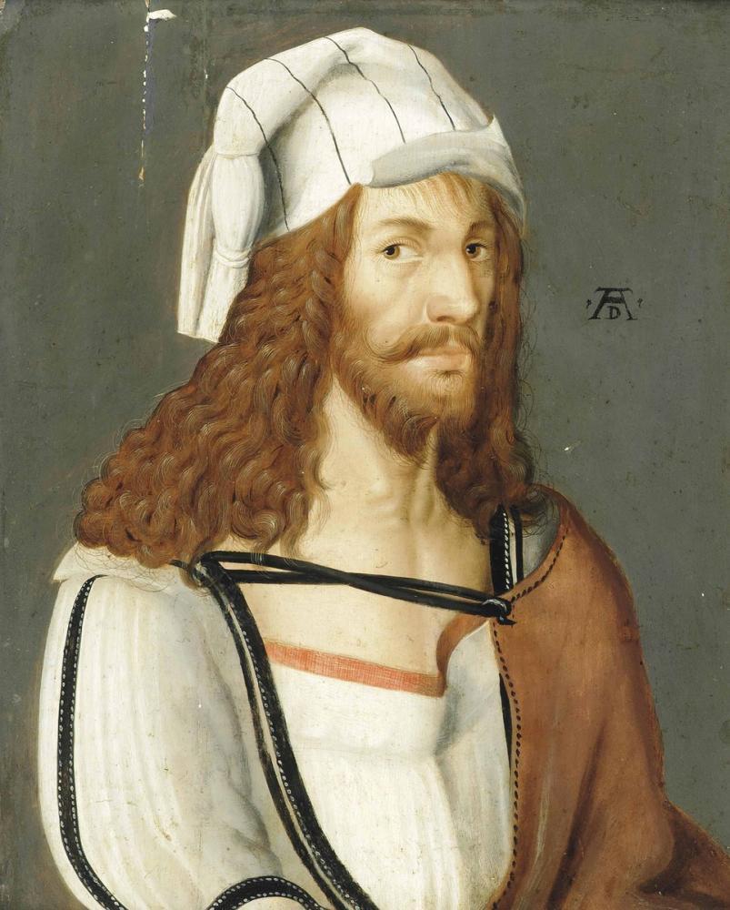 Albrecht Dürer Bir Portre Tarzı, Kanvas Tablo, Albrecht Dürer