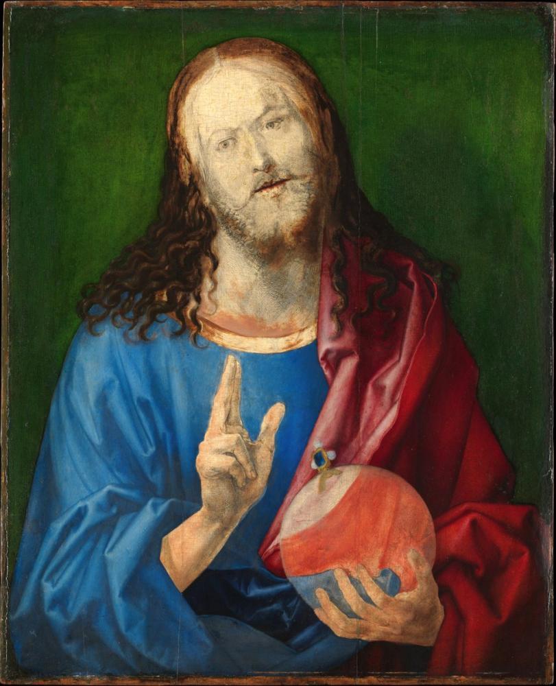 Albrecht Dürer Kurtarıcı, Kanvas Tablo, Albrecht Dürer