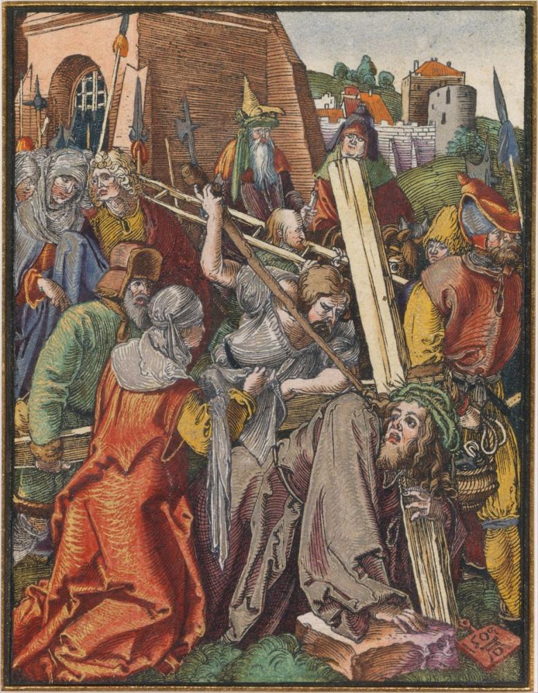 Albrecht Dürer The Bearing Of The Cross, Canvas, Albrecht Dürer, kanvas tablo, canvas print sales