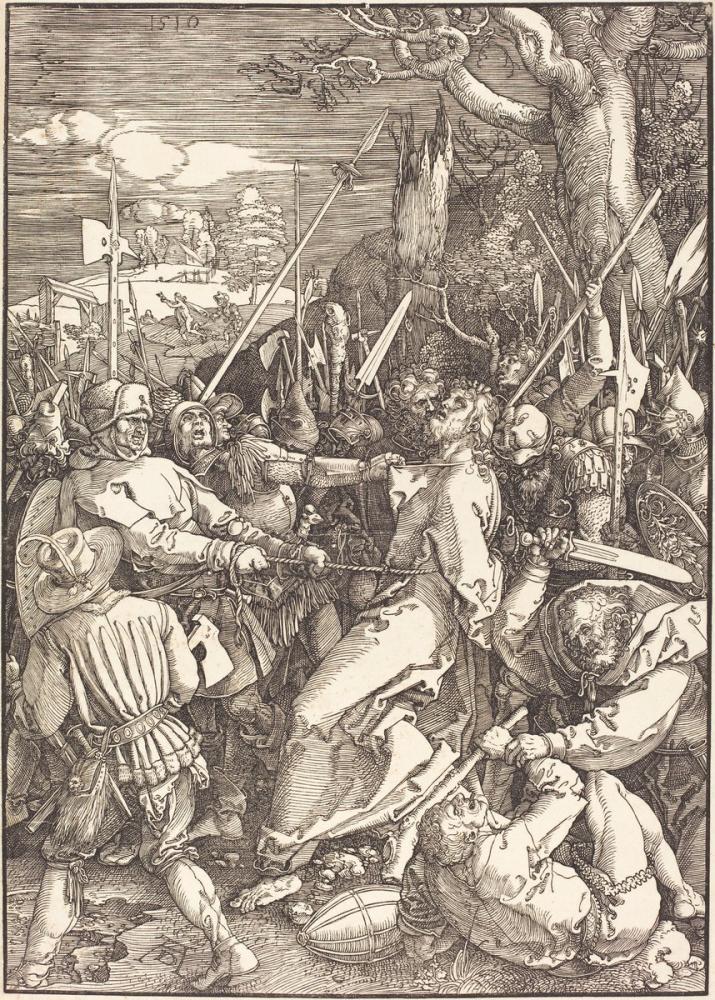 Albrecht Dürer Mesih'in İhaneti, Kanvas Tablo, Albrecht Dürer