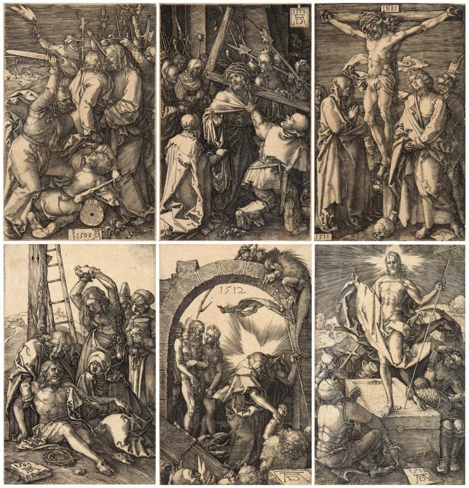 Albrecht Dürer The Engraved Passion, Canvas, Albrecht Dürer, kanvas tablo, canvas print sales