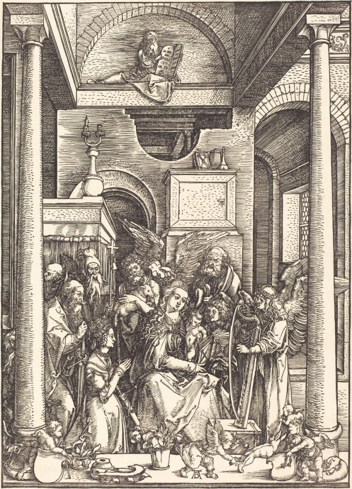 Albrecht Dürer Bakire'nin Zaferi, Kanvas Tablo, Albrecht Dürer