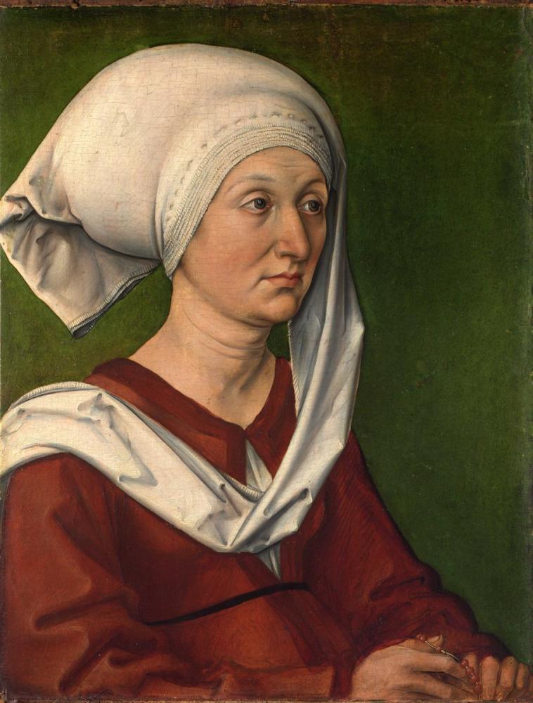 Albrecht Dürer Barbara, Canvas, Albrecht Dürer