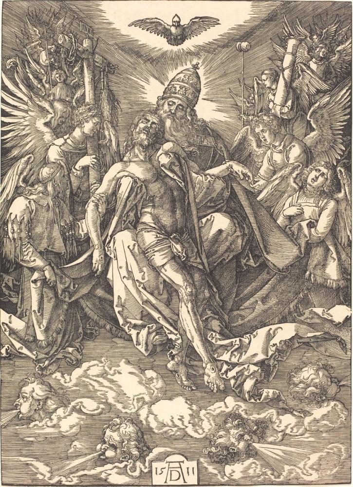 Albrecht Dürer Üçlü, Kanvas Tablo, Albrecht Dürer, kanvas tablo, canvas print sales