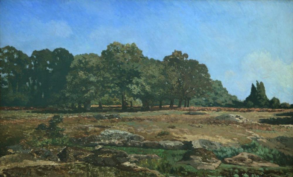 Alfred Sisley Kestane Sokak, Kanvas Tablo, Alfred Sisley