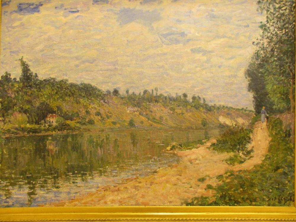 Alfred Sisley The Celle, Canvas, Alfred Sisley, kanvas tablo, canvas print sales