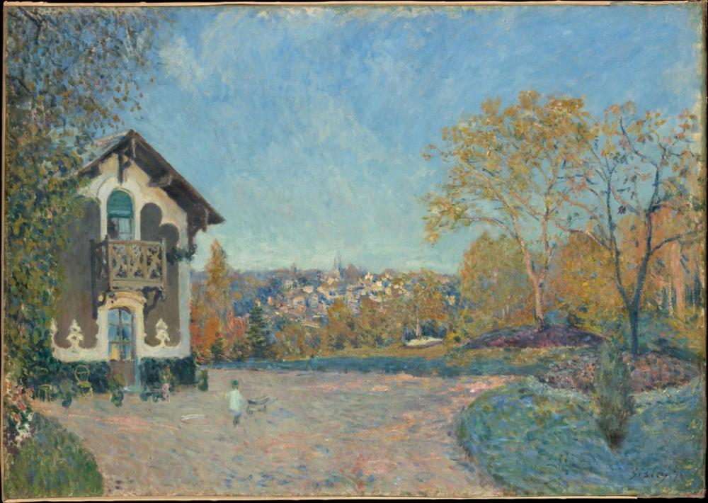 Alfred Sisley View Of Marly Le Roi From Coeur Volant, Canvas, Alfred Sisley, kanvas tablo, canvas print sales