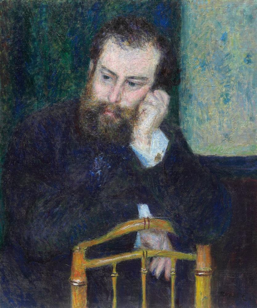 Alfred Sisley Pierre Auguste Renoir II, Kanvas Tablo, Alfred Sisley