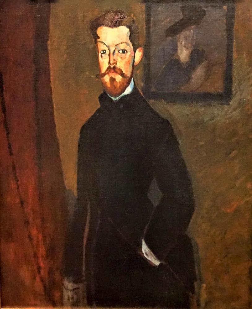 Amedeo Modigliani, Dr Paul Alexandre Portresi, Kanvas Tablo, Amedeo Modigliani