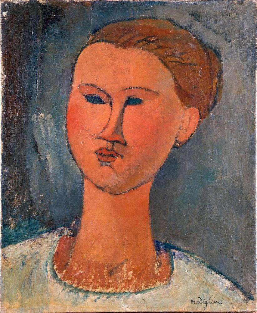 Amedeo Modigliani, Büyülü Oda, Kanvas Tablo, Amedeo Modigliani