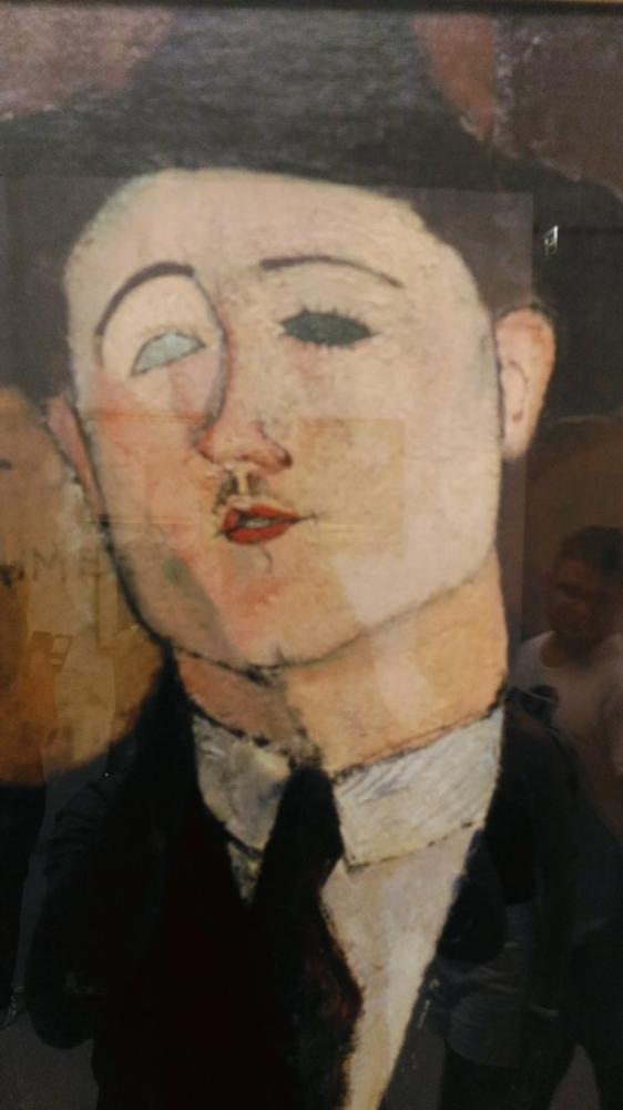 Amedeo Modigliani, Paul Guillaume Portresi, Kanvas Tablo, Amedeo Modigliani