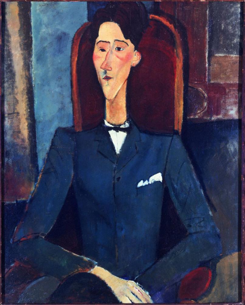 Amedeo Modigliani, Jean Cocteau, Kanvas Tablo, Amedeo Modigliani
