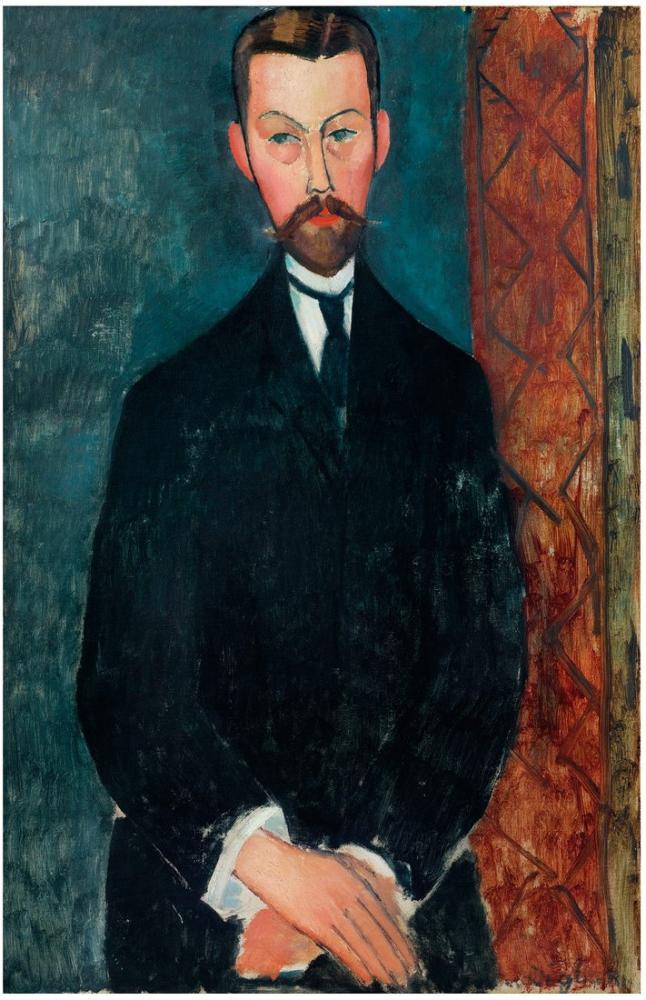 Amedeo Modigliani, Paul Alexandre, Kanvas Tablo, Amedeo Modigliani