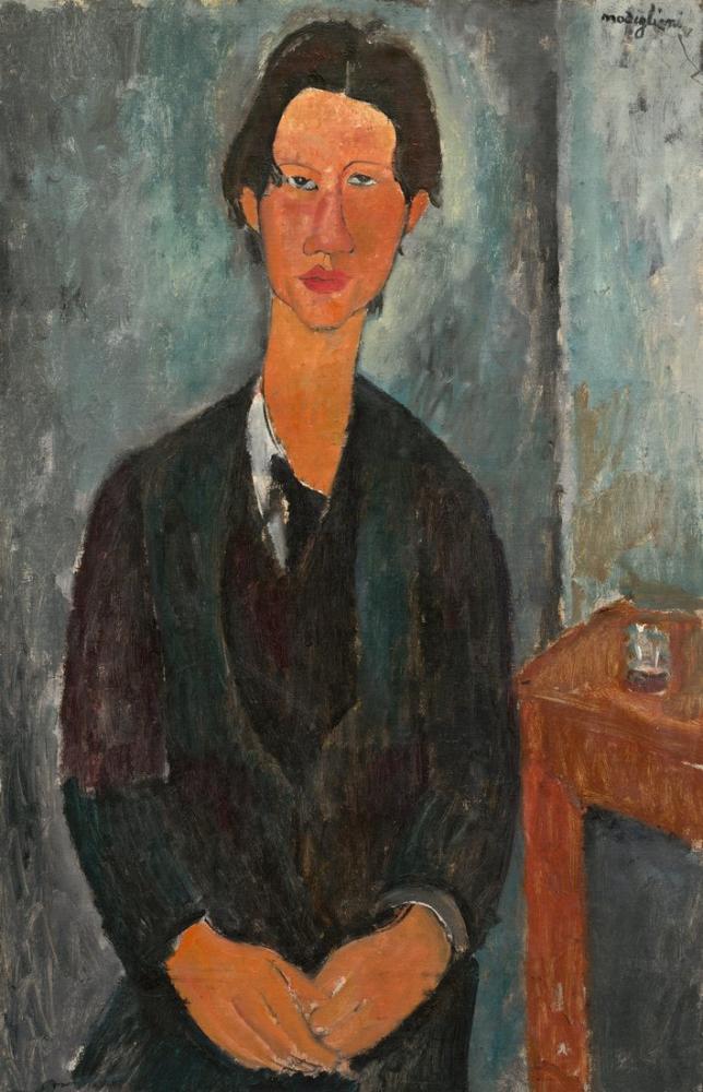 Amedeo Modigliani, Chaim Soutine, Kanvas Tablo, Amedeo Modigliani