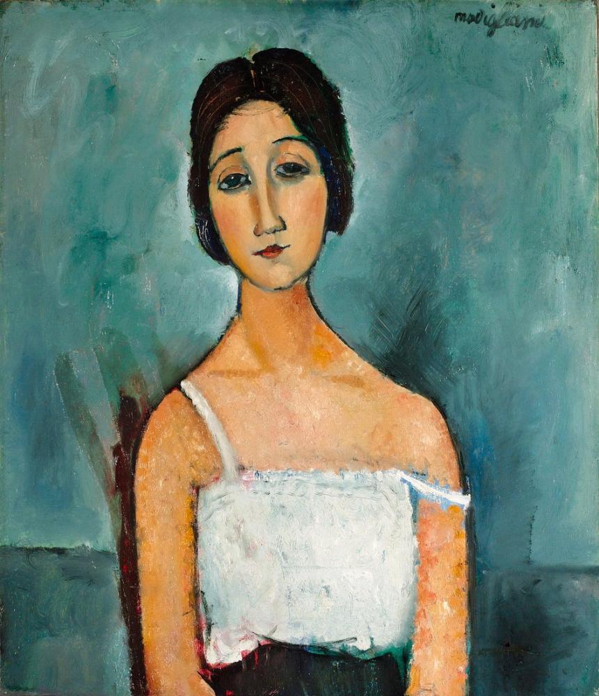 Amedeo Modigliani, Christina, Kanvas Tablo, Amedeo Modigliani