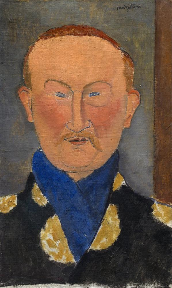 Amedeo Modigliani, Léon Bakst, Kanvas Tablo, Amedeo Modigliani