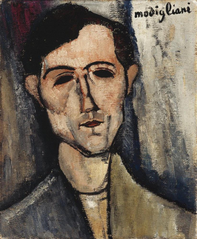 Amedeo Modigliani, Ethel Lilian Voynich The Gadfly, Kanvas Tablo, Amedeo Modigliani