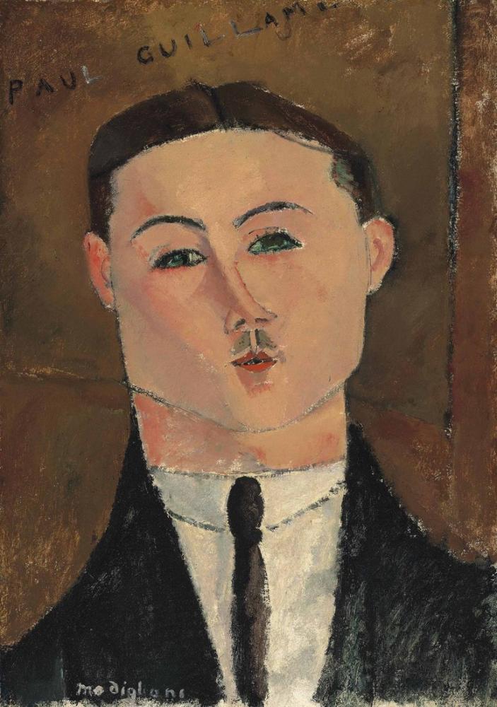 Amedeo Modigliani, Paul Guillaume Nahmad Koleksiyonu, Kanvas Tablo, Amedeo Modigliani