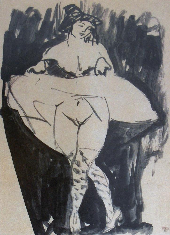 Amedeo Modigliani, Dansçı, Kanvas Tablo, Amedeo Modigliani