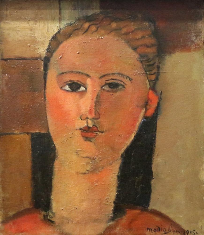 Amedeo Modigliani, Rus Kızı, Kanvas Tablo, Amedeo Modigliani
