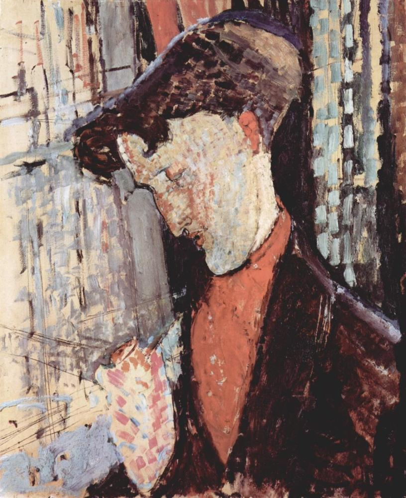 Amedeo Modigliani, Frank Burty Haviland Portresi, Kanvas Tablo, Amedeo Modigliani