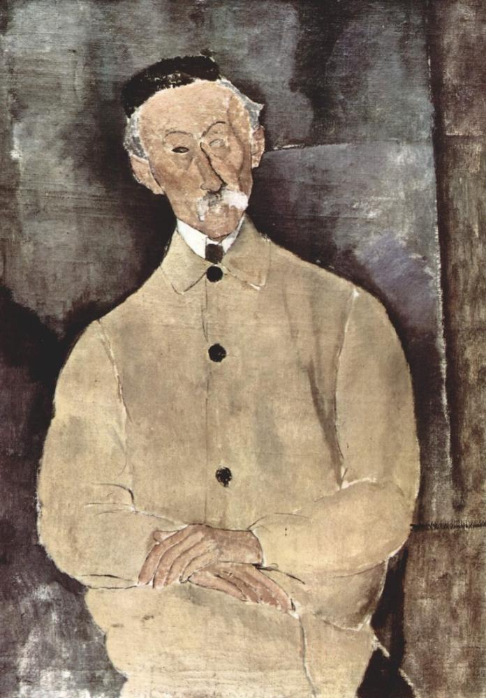 Amedeo Modigliani, Constant Lepoutre, Kanvas Tablo, Amedeo Modigliani