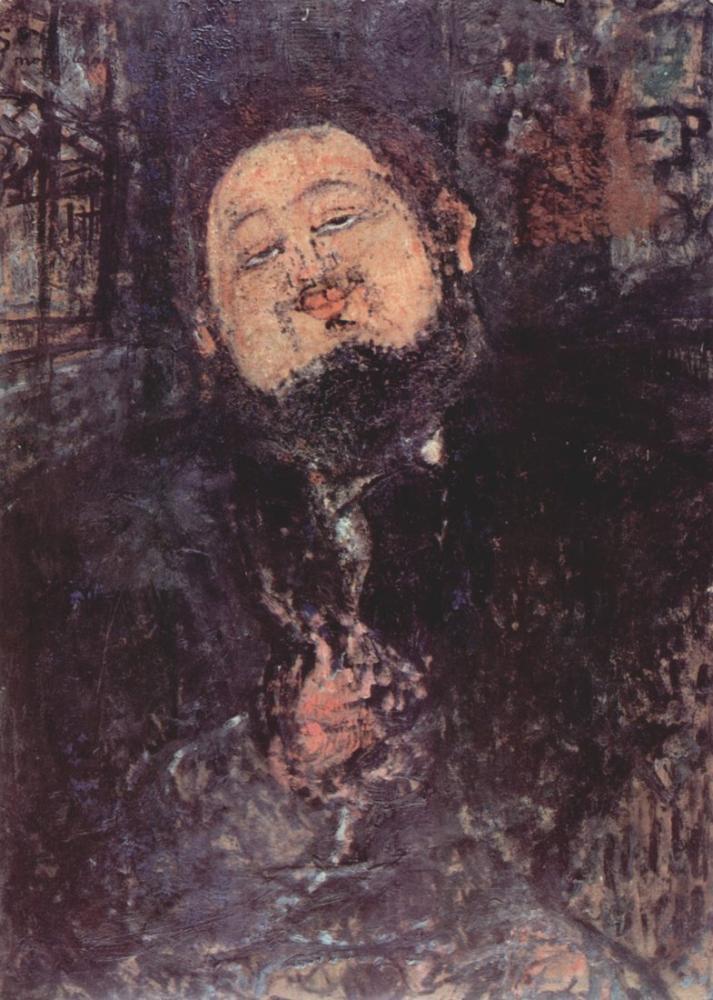 Amedeo Modigliani, Diego Rivera Portresi, Kanvas Tablo, Amedeo Modigliani