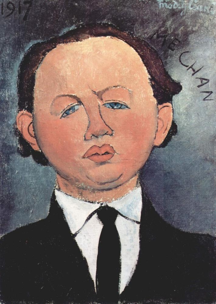 Amedeo Modigliani, Kravat Takmanın Olası Sağlık Tehlikeleri, Kanvas Tablo, Amedeo Modigliani