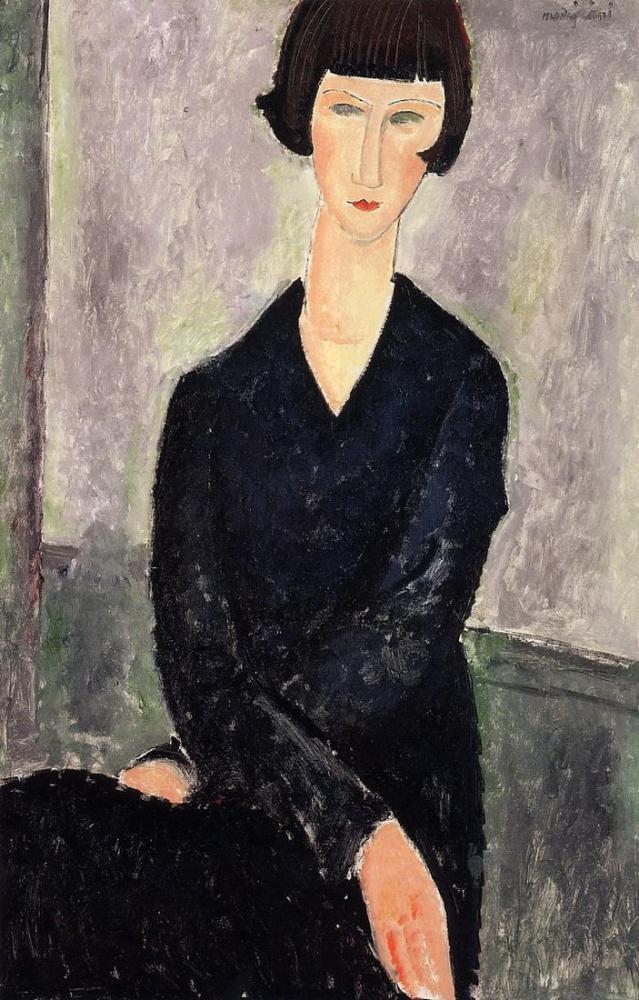 Amedeo Modigliani, Fernande Barrey, Kanvas Tablo, Amedeo Modigliani