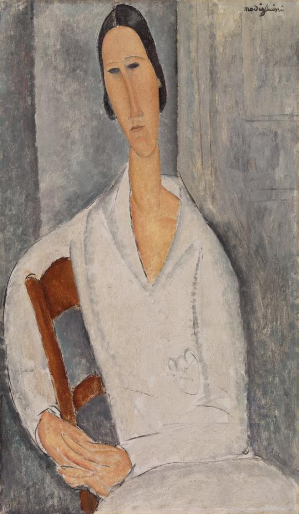 Amedeo Modigliani, Paintings, Kanvas Tablo, Amedeo Modigliani