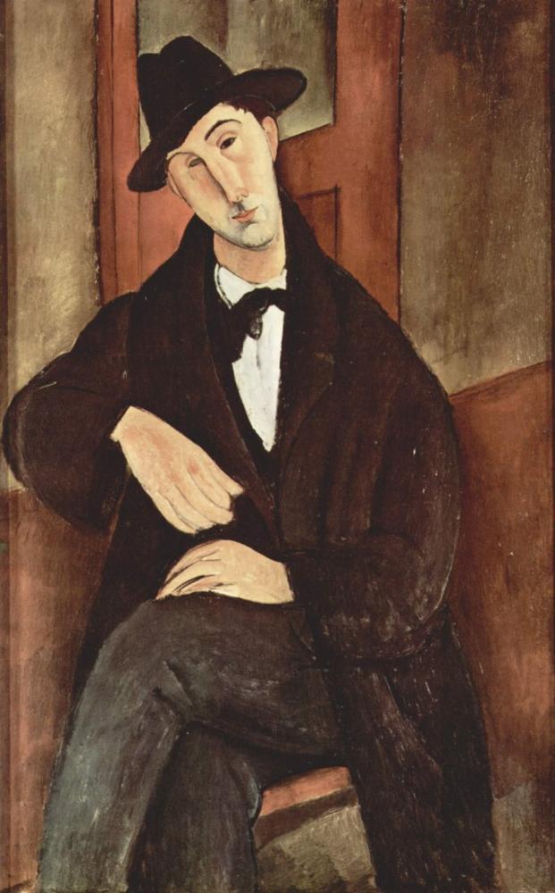 Amedeo Modigliani, Mario Varvoglis, Kanvas Tablo, Amedeo Modigliani