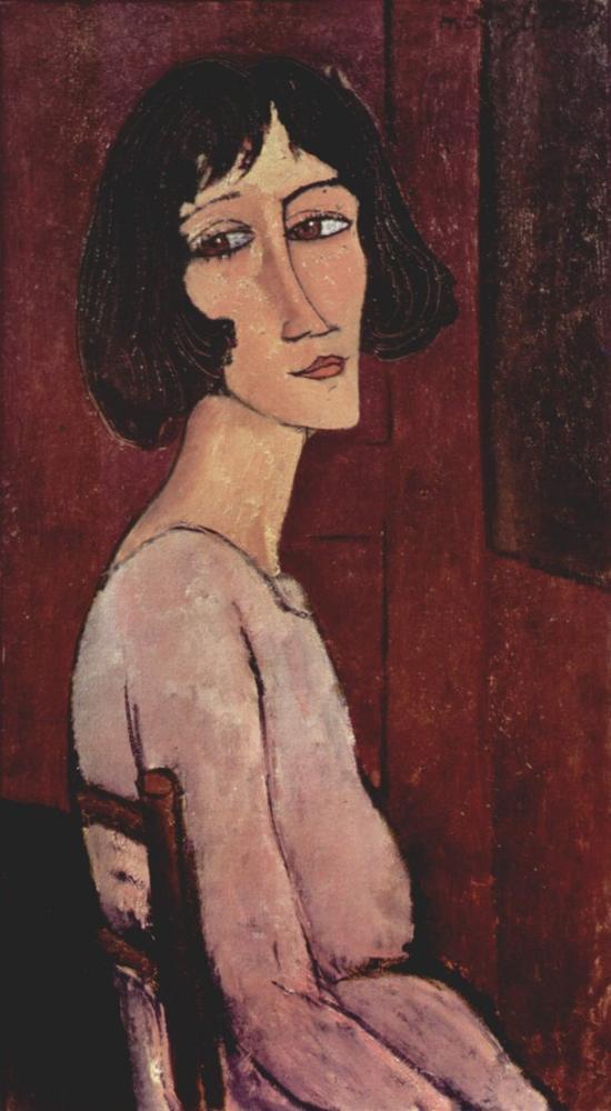 Amedeo Modigliani, Margarita, Kanvas Tablo, Amedeo Modigliani