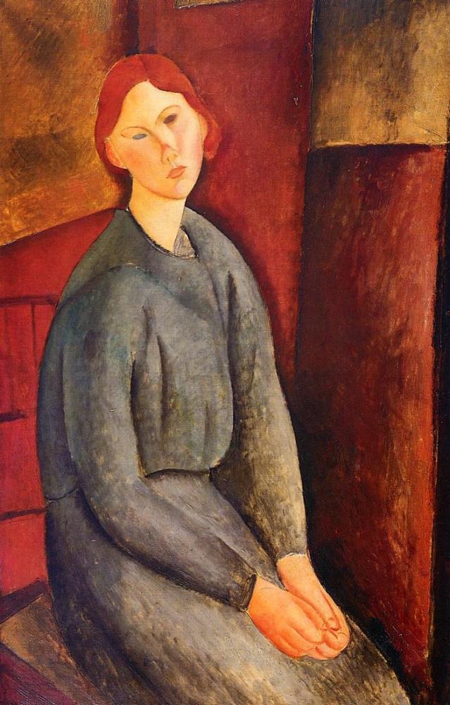 Amedeo Modigliani, Annie Bjarne, Kanvas Tablo, Amedeo Modigliani