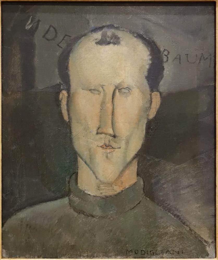 Amedeo Modigliani, Leon Indenbaum, Kanvas Tablo, Amedeo Modigliani