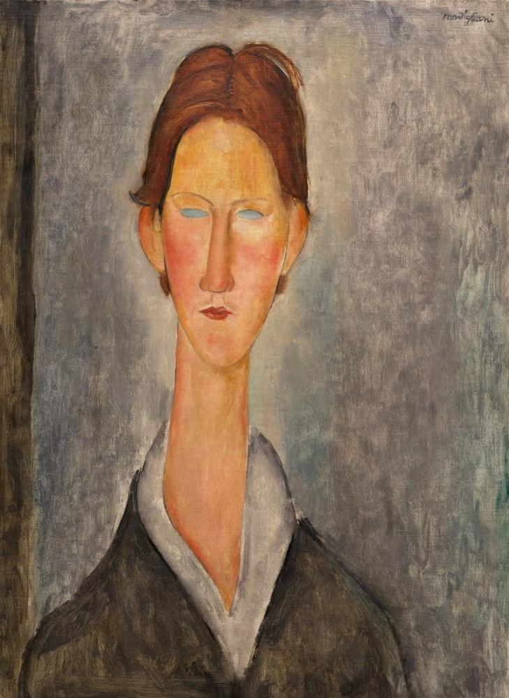 Amedeo Modigliani, Öğrenci Hakkında, Kanvas Tablo, Amedeo Modigliani