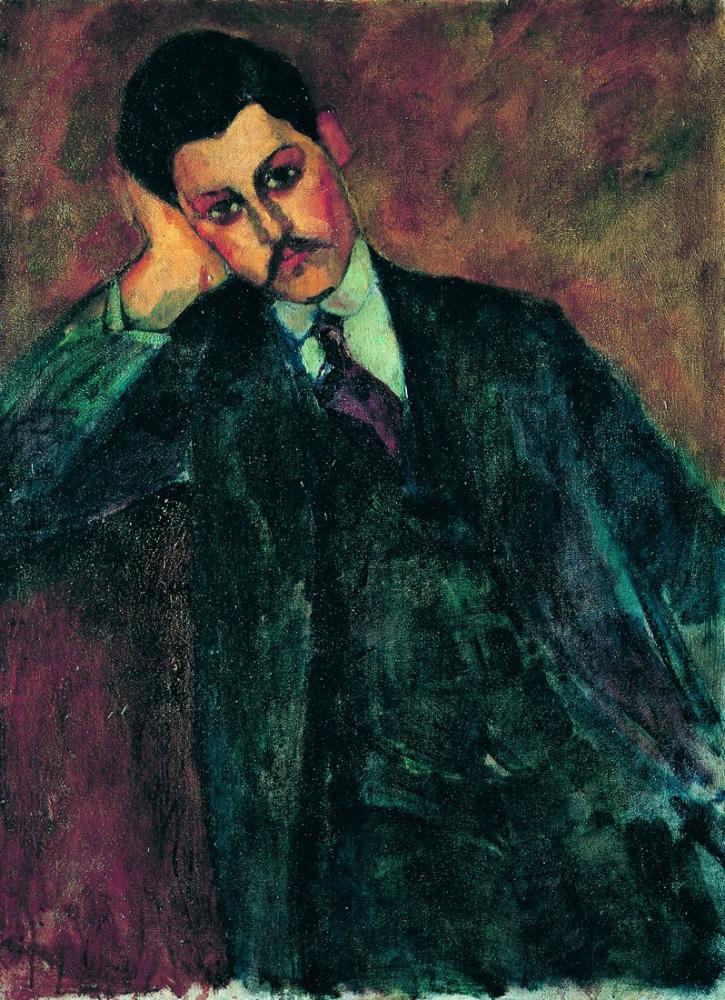 Amedeo Modigliani, Jean Alexandre, Kanvas Tablo, Amedeo Modigliani