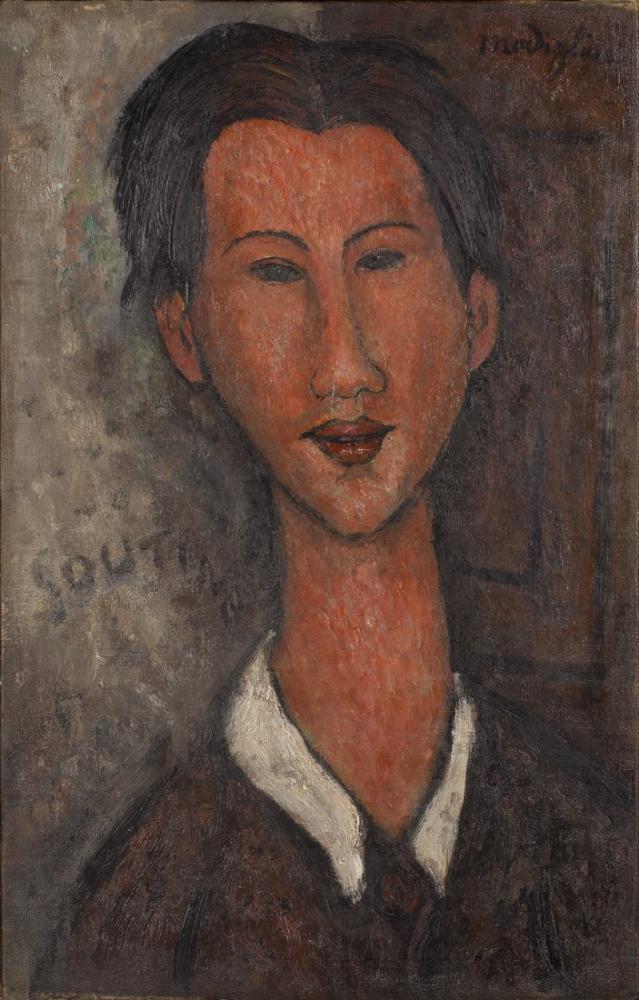 Amedeo Modigliani, Chaïm Soutine, Kanvas Tablo, Amedeo Modigliani