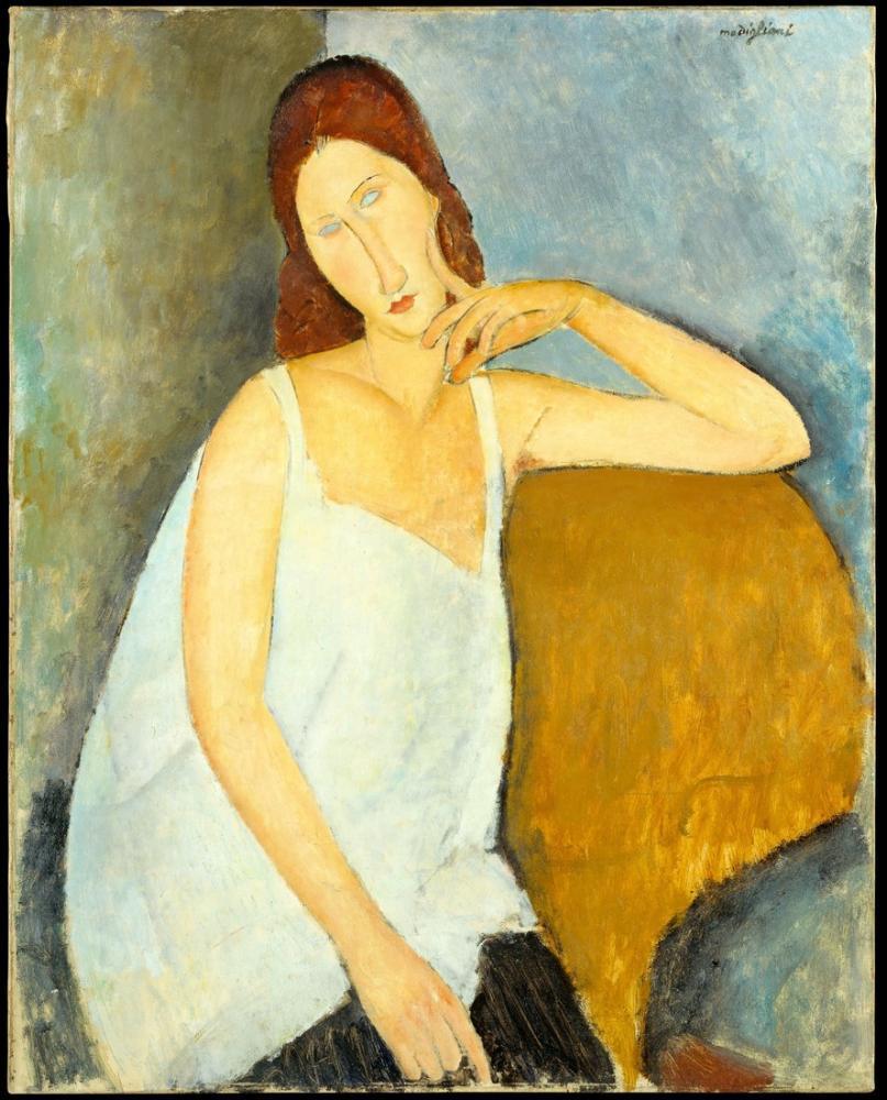 Amedeo Modigliani, Jeanne Hébuterne, Kanvas Tablo, Amedeo Modigliani
