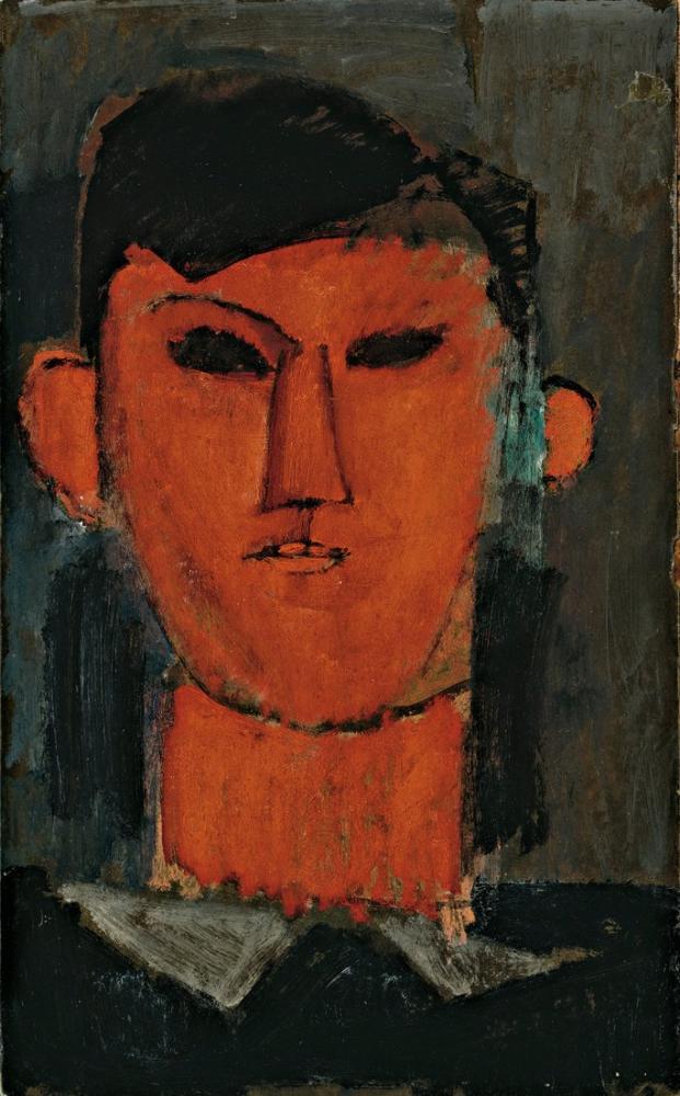 Amedeo Modigliani, Picasso Portresi, Kanvas Tablo, Amedeo Modigliani