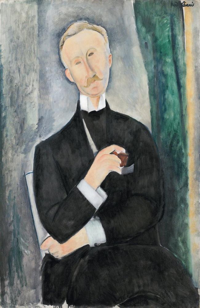 Amedeo Modigliani, Roger Dutilleul, Kanvas Tablo, Amedeo Modigliani