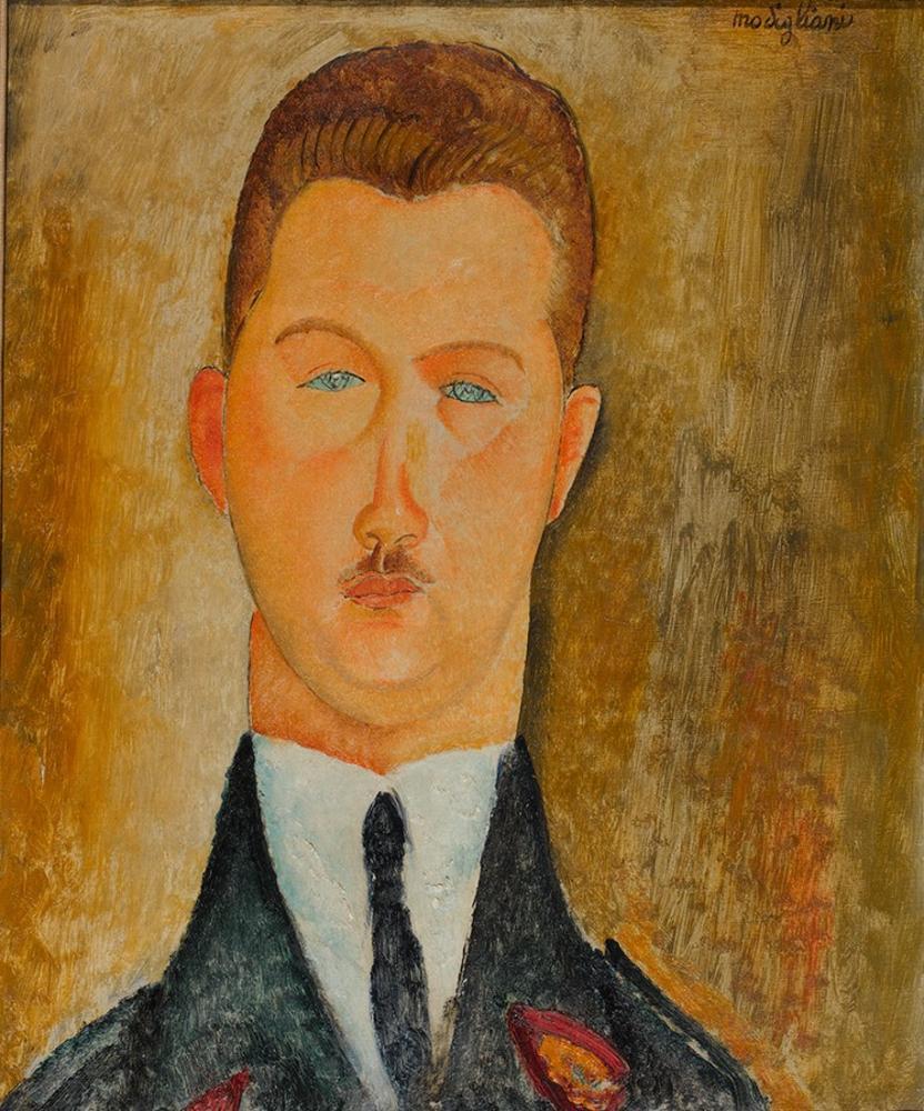 Amedeo Modigliani, Dr Francois Brabander, Kanvas Tablo, Amedeo Modigliani