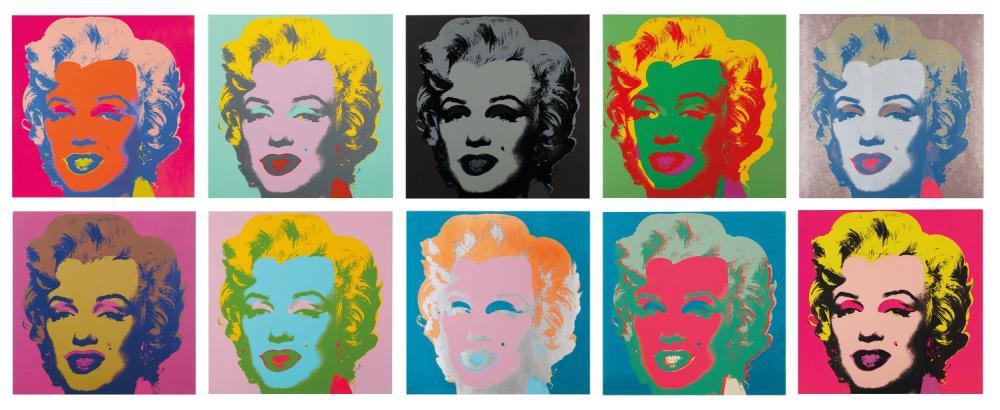 Andy Warhol Shot Marilyns Monreo, Canvas, Andy Warhol