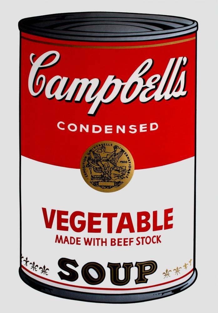 Andy Warhol Veg, Canvas, Andy Warhol