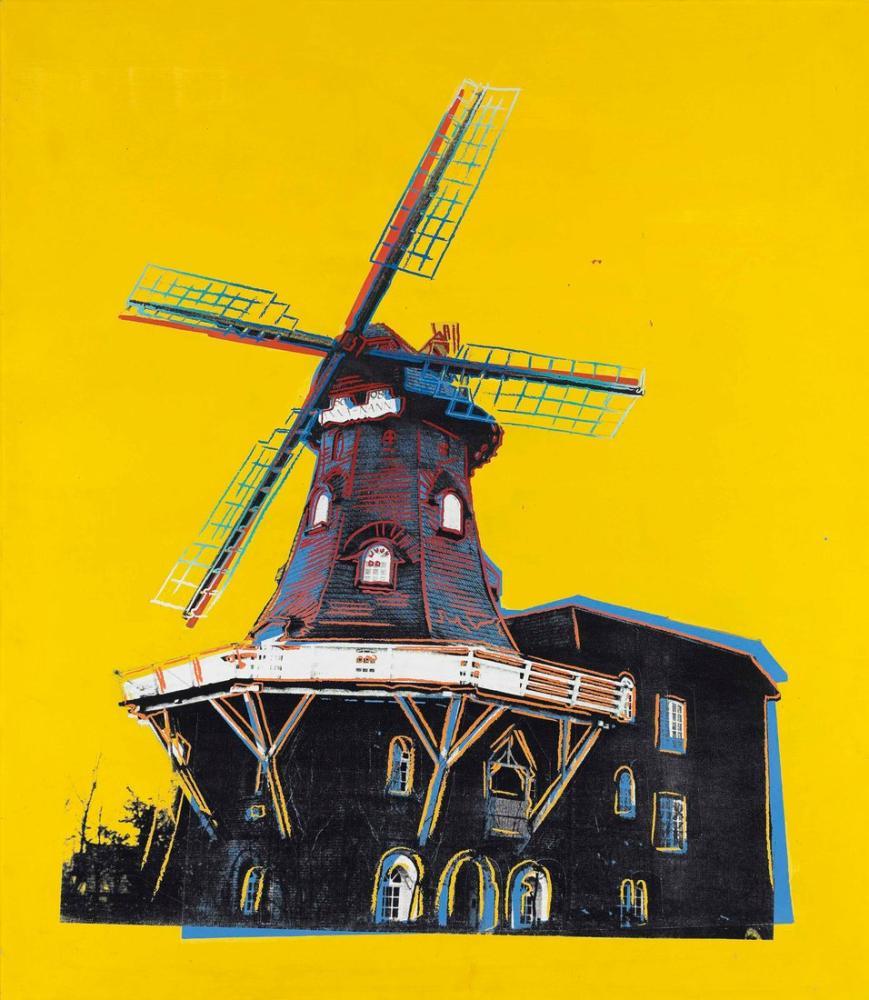 Andy Warhol Windmill, Canvas, Andy Warhol