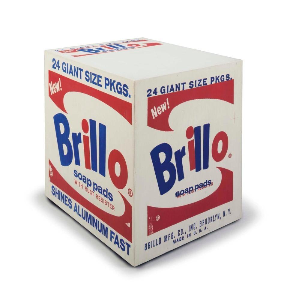 Andy Warhol Brillo Soap Pads Box, Canvas, Andy Warhol, kanvas tablo, canvas print sales